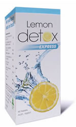 the lemon detox diet lemon detox express 60 tabs. Black Bedroom Furniture Sets. Home Design Ideas